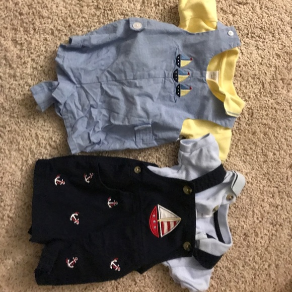 Starting Out Matching Sets Baby Boy Romper Polo Sets Poshmark